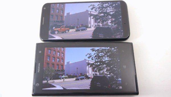 Nokia Lumia 1020 vs Motorola Moto X showcase