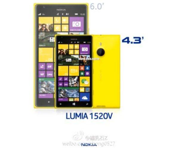 nokia lumia 1520 mini speculated