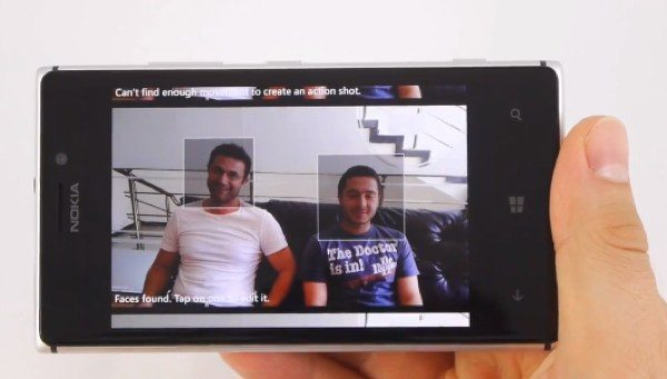Nokia Lumia 925 smart cam, cinemagraph demo videos