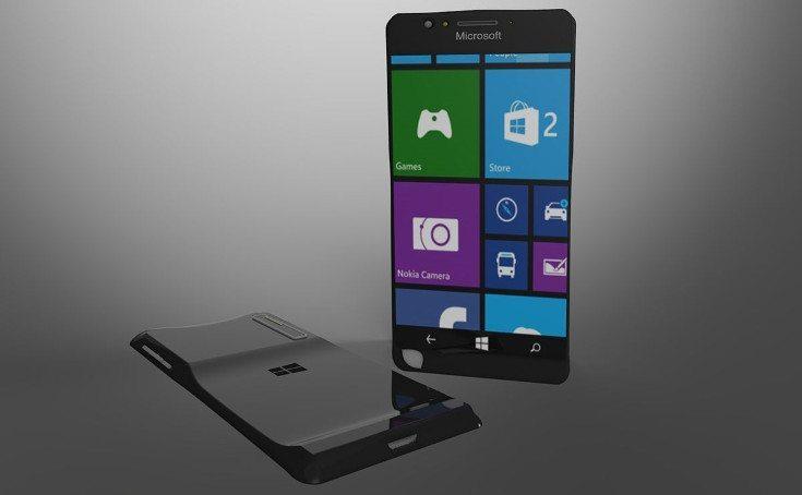 Nokia Lumia Black Concept Phone