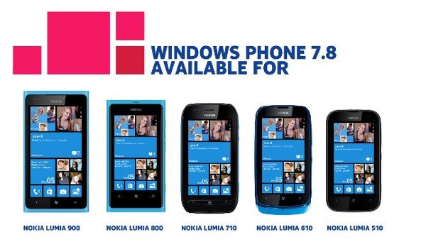 Get Nokia Lumia Windows Phone 7.8 update via Zune