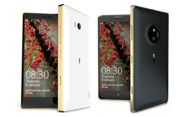Nokia Lumia 930 Gold Edition now available