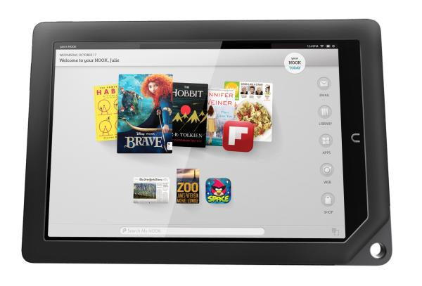 nook hd best tablet