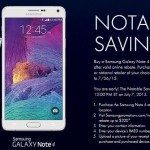 galaxy note 4 sale