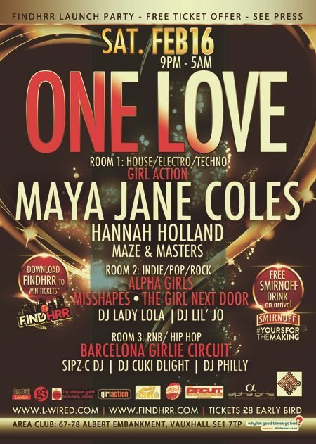one ove and findhrr launch party