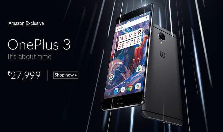 OnePlus 3 Amazon