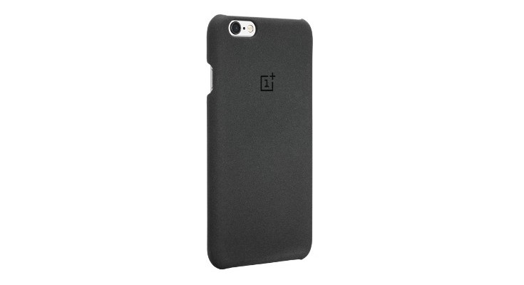 OnePlus unveils a OnePlus Sandstone Case for the iPhone 6