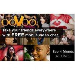ooVoo for android great for 4-way video chat