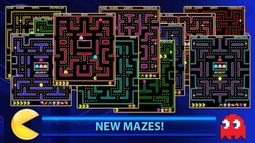 PAC-MAN +Tournaments free for Android, iOS later