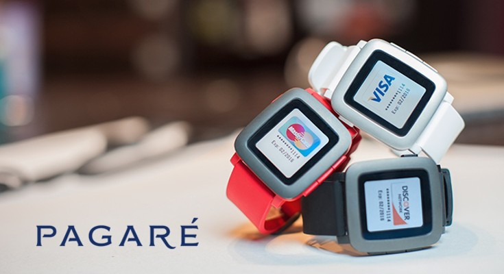The Pagaré Smartstrap brings Mobile Payments to the Pebble Time
