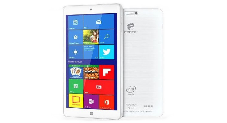 The Pantel Penta WS802X tablet arrives in India with Windows 10