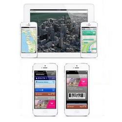 Apple up with maps, down with sued Passbook
