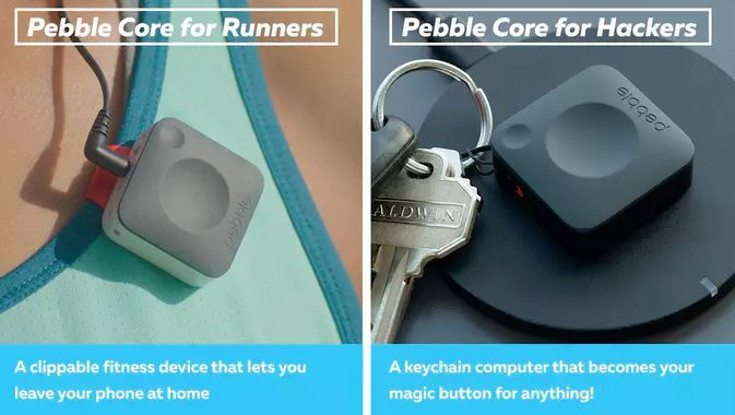 pebble core wearables