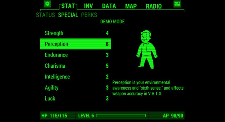 The Fallout 4 Pip-Boy app has arrived for Android and iOS