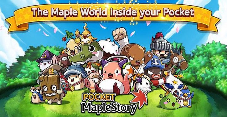 Pocket MapleStory release date approaches for Android