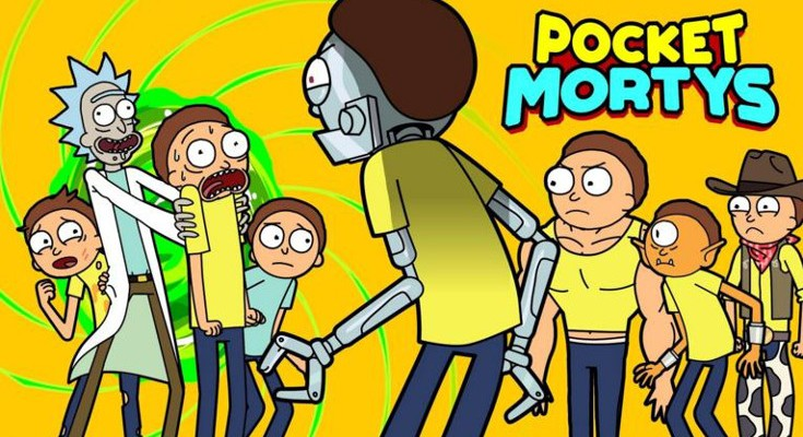 Adult Swim releases Pocket Mortys for Android and iOS