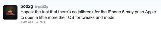 Apple open iOS and underground jailbreak by pod2g