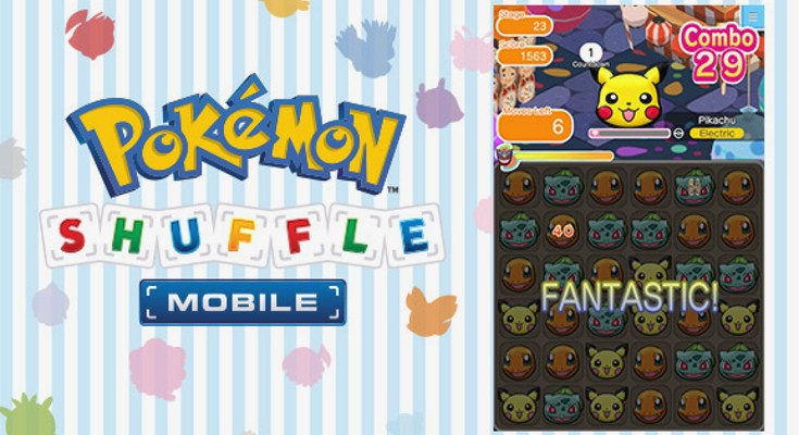Pokémon Mobile game coming soon with Pokémon Shuffle