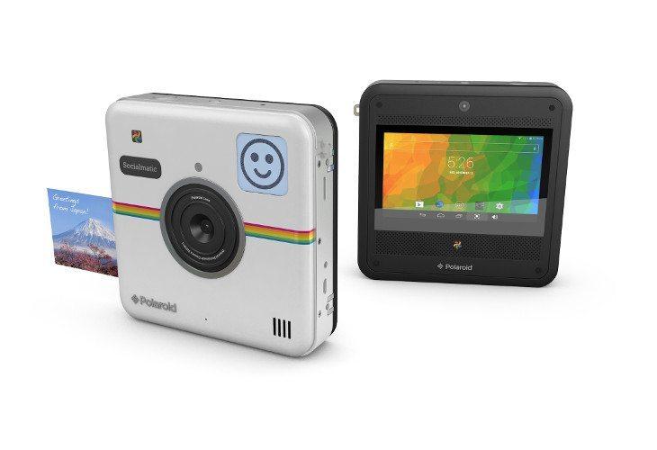 Polaroid Zip Mobile Printer and Socialmatic Camera announced
