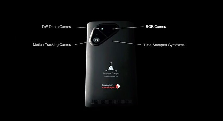 Project Tango phone with Snapdragon 810 announced for developers