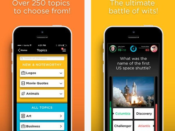 QuizUp Android app release for 2014