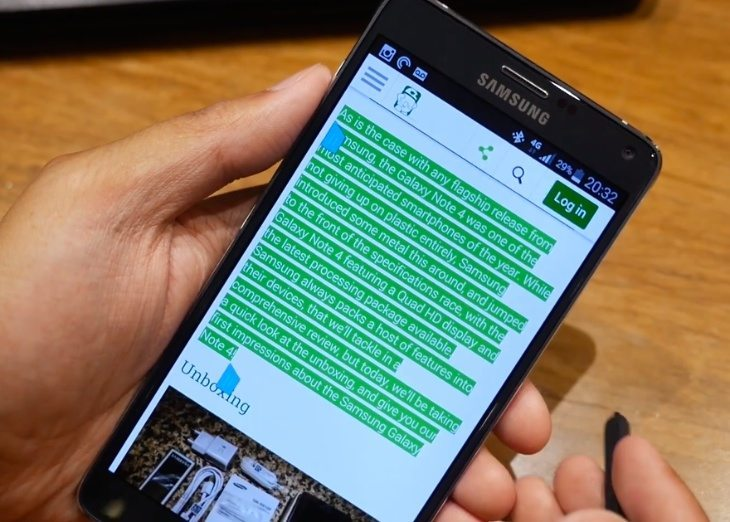 samsung Galaxy Note 4 S pen review