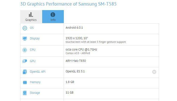 Samsung SMT585