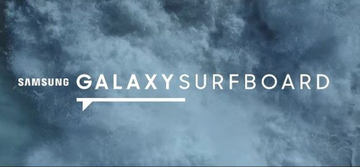 Samsung Galaxy Surfboard lets you stay connected on the waves