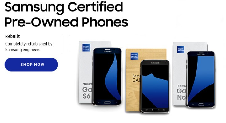 Samsung Refurbished phones now available to purchase in the U.S.