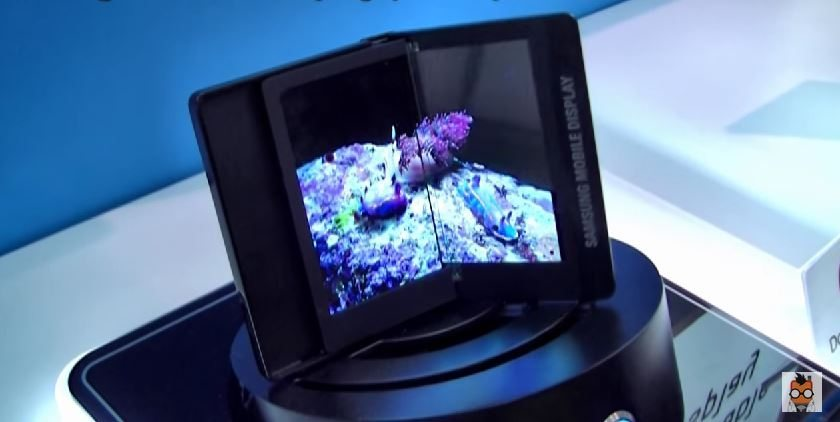 samsung foldable display rumored to be ready to roll in. Black Bedroom Furniture Sets. Home Design Ideas