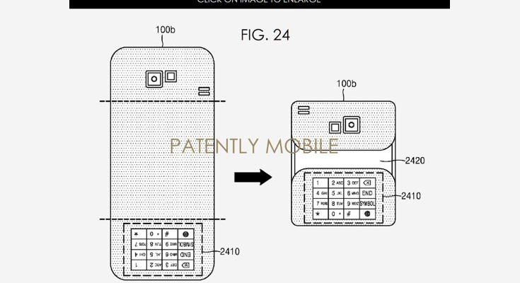 Patent unveils Foldable Samsung Smartphone with Multiple OS