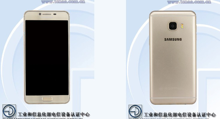 Samsung Galaxy C5 passed through TENAA with 4GB of RAM