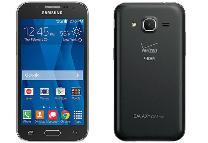 Samsung Galaxy Core Prime is headed to Verizon February 26