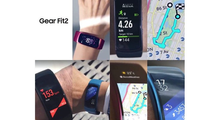 Samsung Gear Fit 2 design leaks in new photos