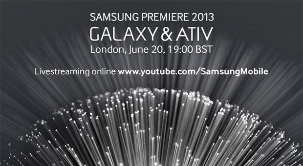 Samsung June 20 event live in London: video and start time
