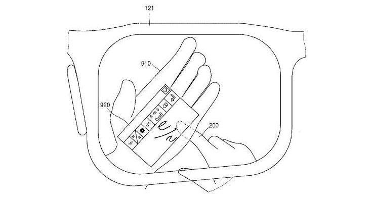 samsung.smartglasses.patent