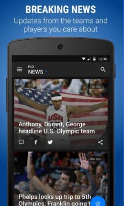 top olympic apps
