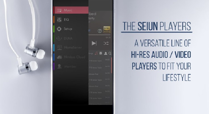 The Seiun Players put Hi-Res Audio and 4K video into portable form