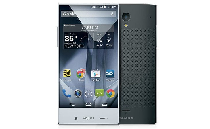 The Sharp Aquos Crystal lands in the US at Sprint and Boost Mobile