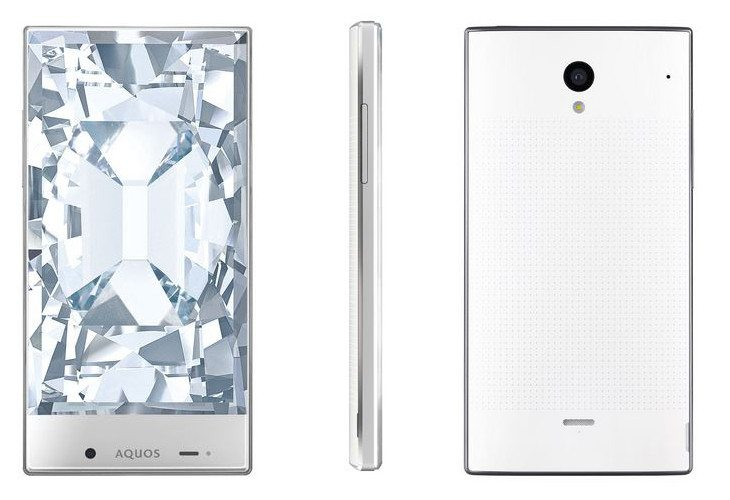 The Sharp Aquos Crystal has the slimmest Bezels on the Planet