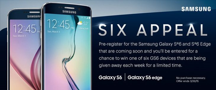 Sprint teases the Galaxy S6 release date