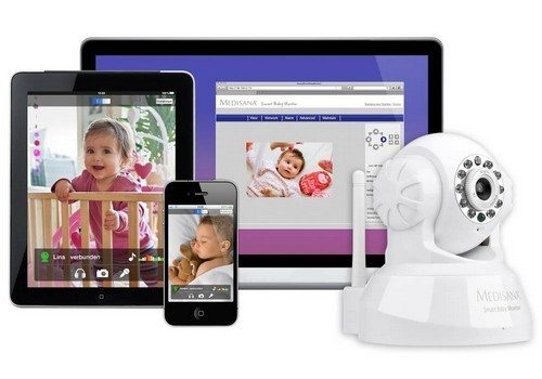 iphone controlled smart baby monitor for peace of mind phonesreviews uk mobiles apps. Black Bedroom Furniture Sets. Home Design Ideas