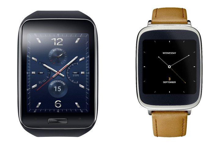 smartwatch shootout zenwatch gear s