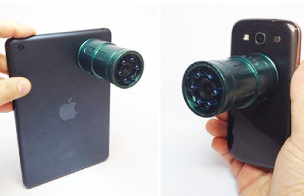 Snooperscope night vision lens for WiFi smart devices