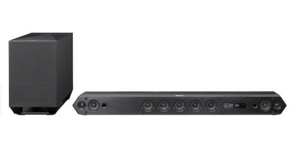 Sony HT-ST7 soundbar with Bluetooth Sync button