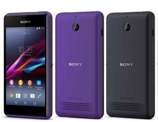 Sony Xperia E1, E Dual specs and more
