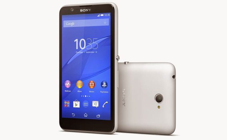 The Sony Xperia E4 and its two-day battery announced by Sony
