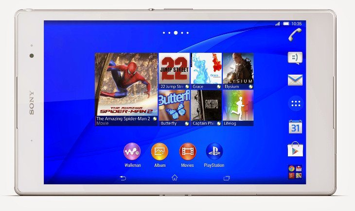 Sony Xperia Z3 Tablet Compact announced with Ps4 Remote Play