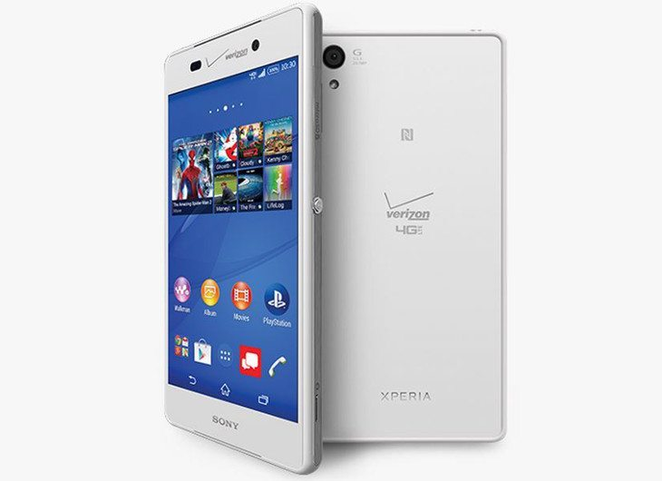 Sony's flagship heads to Verizon as the Sony Xperia Z3v
