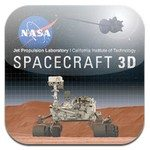 Spacecraft 3D iOS app released by NASA